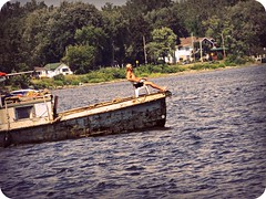 Just Chillin'... (RachMinuit) Tags: life old river ottawa chilling titanic tanning noat