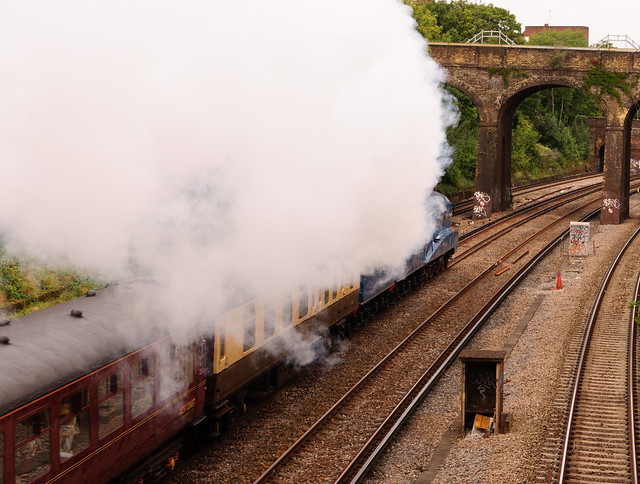 Steaming Away