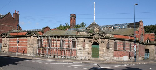 Stirchley Baths front