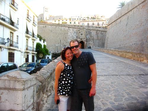2008 09 us in Ibiza