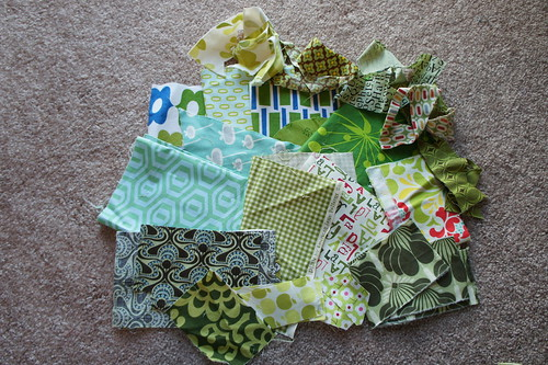 Green Scrap Destash