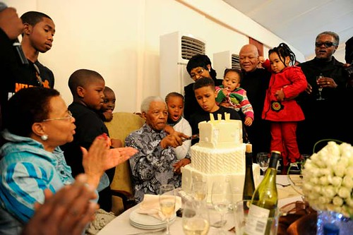 Nelson Mandela cumpleaños 92