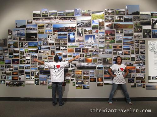 RunawayJuno and BohemianTraveler love NY State photograph exhibit