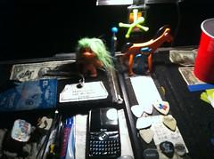 Clay's Desk