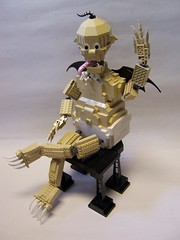 There is a new monster in town (monsterbrick) Tags: baby monster lego imp batboy moc davidpagano