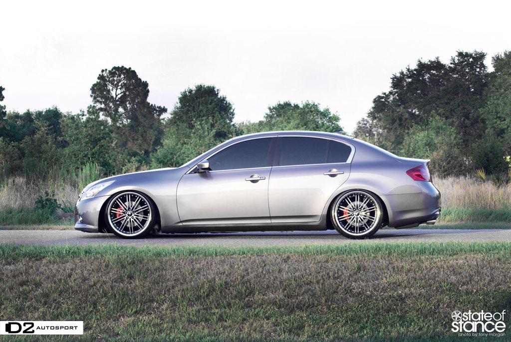 Infiniti San Antonio >> G Sedan Slammed on some nice wheels : D2AUTOSPORT - MyG37