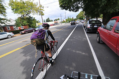 New bike lanes on N Rosa Parks Way-25