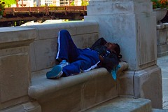 Sleeping Homeless Man IMG_7272 (www.cemillerphotography.com) Tags: poverty broken want need broke destitute itinerant bankrupt starving pauper indigent penniless insolvency privation