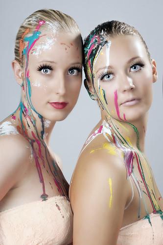 [フリー画像] 人物, 女性, スタジオ, 201109030900