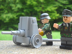 Lego Pak 36 ([funkymn]) Tags: world 2 war gun tank lego wwii german 36 anti pak antitank at pak36