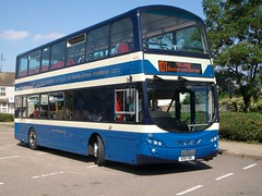 AD61 DBL (markkirk85) Tags: 2 bus buses eclipse volvo 150 bourne wright peterborough gemini delaine dbl 82011 b9tl ad61 ad61dbl