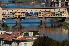Firenze - Ponte Vecchio (coloreda24) Tags: italy florence europe italia firenze toscana pontevecchio oldbridge 2011 canonefs55250is