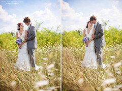Blue Skies (Kristy Berends) Tags: firstdance laceweddinggown grandrapidswedding kristyberendsphotography kaylaandaaron princetonchurch sunnyslopecountryclub