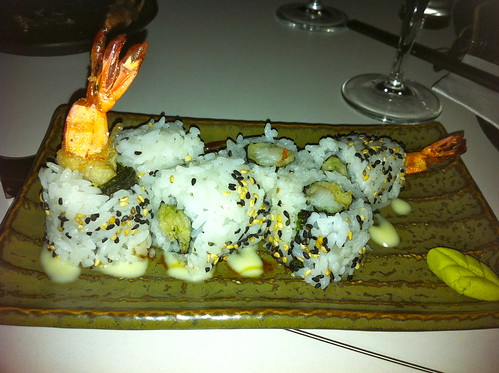 Bonsai Fried Prawn Sushi