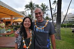 Alani Apio and Lisa Asagi at Ag in the City