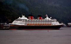 Cruise ship - Disney Wonder - Alaska (blmiers2) Tags: travel cruise alaska nikon ship disney cruiseship disneywonder d3100 blm18 blmiers2