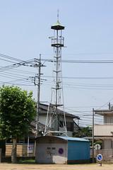 日進の火の見櫓(さいたま市北区)