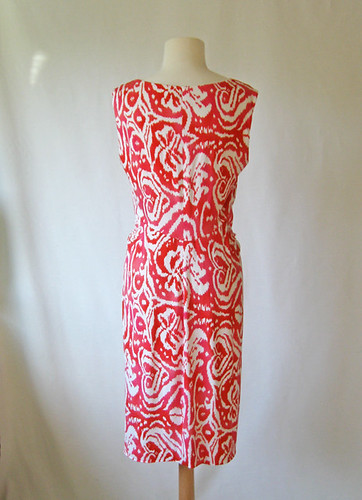 Coral dress on form3