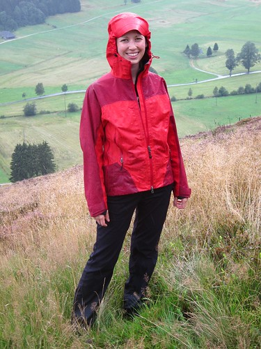 Hiking in the Rain in Germany by Danalynn C