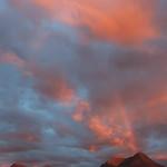 Rainbow sunset on Ben Damph thumbnail