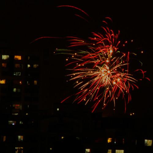 Ganpati fireworks, Goregaon East