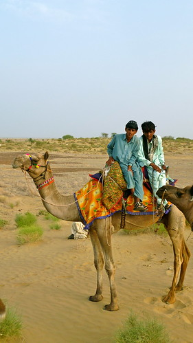 Camel Riders - Photo by Adam Stone