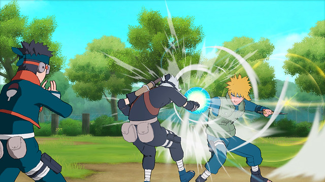 Naruto Shippuden: Ultimate Ninja Storm Generations - Kakashi, Obito vs Minato