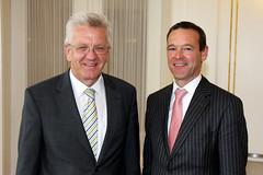 Kretschmann empfängt britischen Botschafter