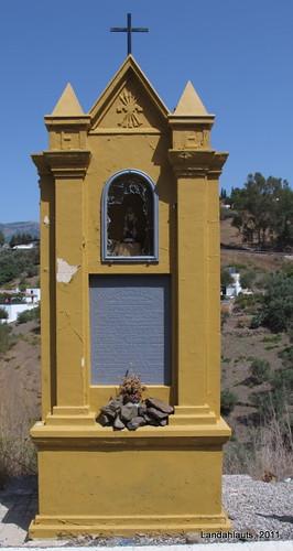 Monumento Fascista en Cómpeta