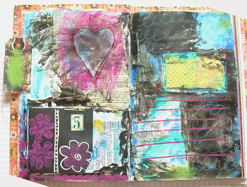 Mixed Media background pt.2
