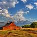 Morning Sky over Moulton Barn