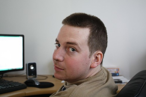 Josh's haircut!