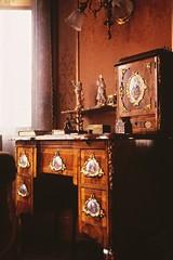 A Lady's Dresser (Non Paratus) Tags: film washingtondc furniture victorian slide transparency scanned mansion canonae1 dresser dupontcircle 1892 heurichhouse