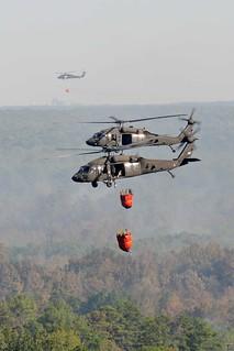 Louisiana National Guard takes on firefighting...