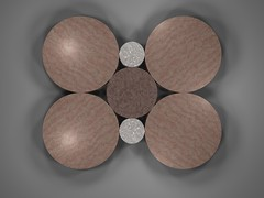 Integer Radii Circle Packing (fdecomite) Tags: circle geometry packing math povray