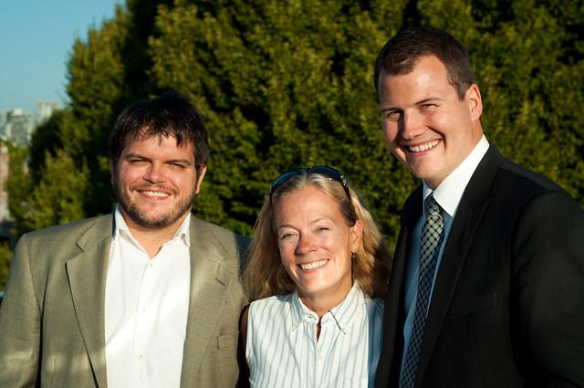 Yuri Artibise, Colleen Hardwick + Justen Harcourt