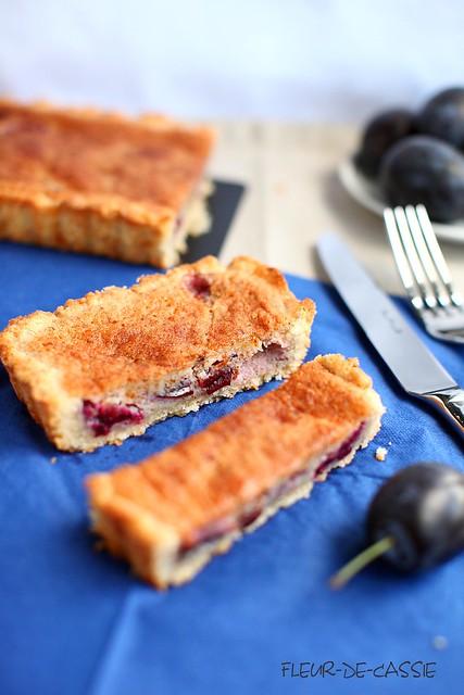 сливовый тарт с франжипаном 4