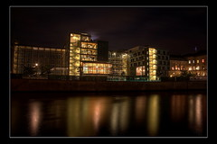 Spree night (Pinky0173 (thanks for 100.000 visits)) Tags: berlin night canon river deutschland niceshot nacht himmel spree regierung spiegelung dri hdr beton goverment wow1 flus germani waschmaschiene panoramafotogrfico mygearandme blinkagain flickrstruereflection1