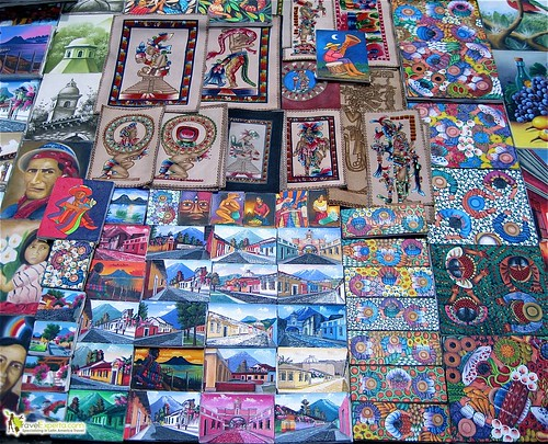 Typical Guatemalan Art and Paintings