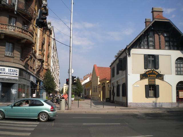 Batthyány utca en Debrecen