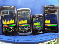 GPS Satellite Visibility Comparison