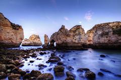 Ponta da Piedade. Blue hour. Algarve. Portugal (J. A. Alcaide) Tags: naturaleza portugal nature water agua europa europe spots rincones algarve seas mares