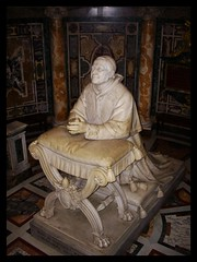 Pius IX (jase) Tags: sculpture pope roma church statue catholic pray praying monk christian priest marble pontifica yahoo:yourpictures=sculptures