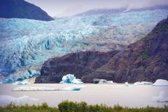 Mendenhall Glacier - Alaska (blmiers2) Tags: ocean travel blue mountain mountains green nature water alaska landscape photography nikon rocks glacier juneau icebergs mendenhall 2011 sitaantaagu aakwtaaksit d3100 blm18 blmiers2