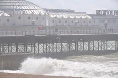 Brighton_Beach_010 (Peter-Williams) Tags: uk sea seascape beach water sussex pier seaside brighton wave groyne breakwater