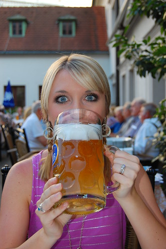 1 Liter Beer at the Hofbrauhaus