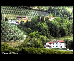 dolci colline toscane (Cinzia A. Rizzo / fataetoile) Tags: texture toscana fiumeazzurro fataetoile memoriesbook splendidpicture magicart cinziaarizzo 15settembre2011