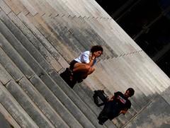 Guingois du mercredi - 14 septembre 2011 : escalier de la Bibliothèque municipale (II)