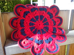 Pot holder swap 2011, pot holder received #1