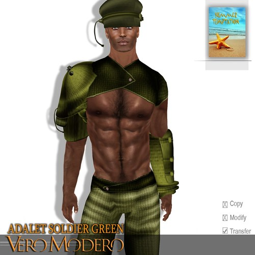 VERO MODERO _ ADALET SOLDIER GREEN VENDOR